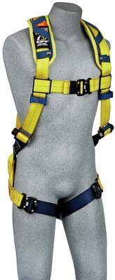 Delta™ Comfort Vest-Style Scaffolding Harness, QC/QC, 1100975 1100976 1100977 1100978, front
