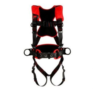 3M™ Protecta® Comfort Construction Positioning Climbing Harness-Pass-Thru Leg Pass-Thru Chest, front