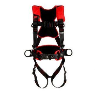 3M™ Protecta® Comfort Construction Positioning Climbing Harness-Pass-Thru Leg Pass-Thru Chest, front
