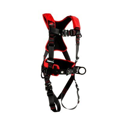3M Protecta Comfort Construction Positioning Climbing Harness-Quick Connect Leg Quick Connect Chest, front right