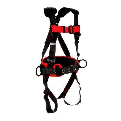 1161304-1161305-1161306-1161307 3M™ Protecta® Construction Positioning Harness-Pass-Thru Leg Pass-Thru Chest, front left