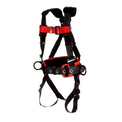 1161304-1161305-1161306-1161307 3M™ Protecta® Construction Positioning Harness-Pass-Thru Leg Pass-Thru Chest, front right