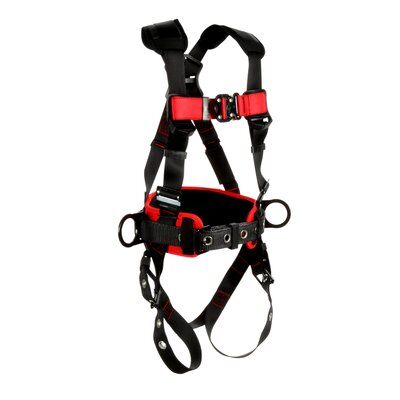 3M™ Protecta® Construction Style Positioning Harness, 1161315-1161316-1161317, front right