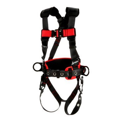 3M™ Protecta® Construction Style Positioning Harness, 1161315-1161316-1161317, front left