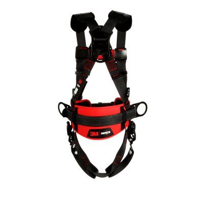 3M™ Protecta® Construction Style Positioning Harness, 1161315-1161316-1161317, back