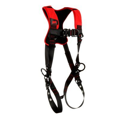 Pro™ Comfort Vest-style Positioning/Climbing Harness, TB/QC, 1161439-1161440-1161441, front left