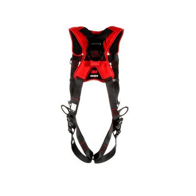 Pro™ Comfort Vest-style Positioning/Climbing Harness, TB/QC, 1161439-1161440-1161441, back