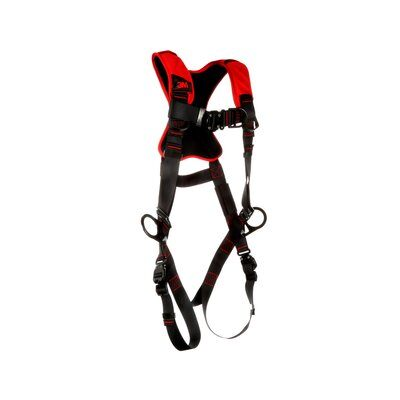 Pro™ Comfort Vest-style Positioning/Climbing Harness, QC/QC, 161442-1161443-1161444. front left