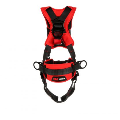 1161205 - Construction/Positioning Harness, Back & Side D-rings, Easy-link Web Adapter, Rear