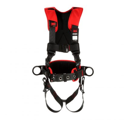 1161205 - Construction/Positioning Harness, Back & Side D-rings, Easy-link Web Adapter, Front