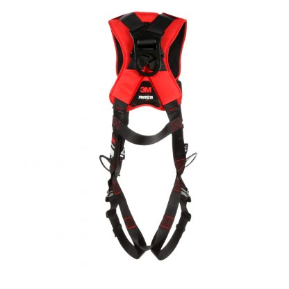 3M™ Protecta® Comfort Vest-Style Positioning Harness, Black, Rear