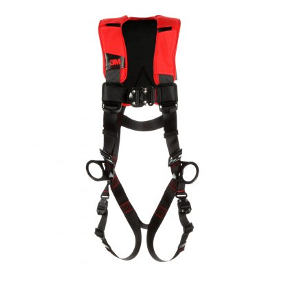 3M™ Protecta® Comfort Vest-Style Positioning Harness, Black,Front