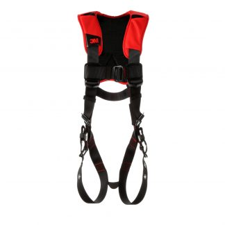 3M™ Protecta® Comfort Vest-Style Harness 1161418, Black, Front