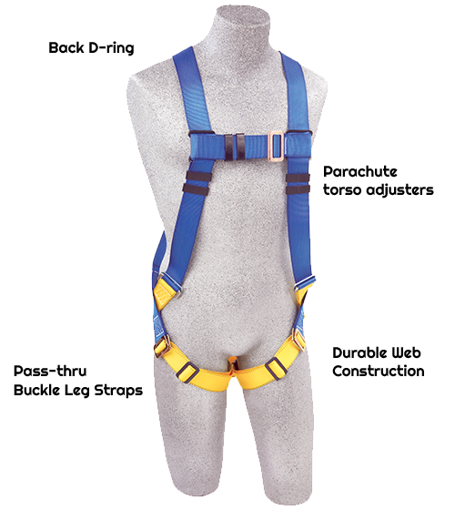 3M™ PROTECTA® First™ Vest-Style Positioning Harness AB17530-XL, X-Large, 1 EA