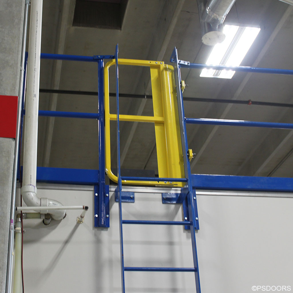 Lsgf Full Height Ladder Safety Gate Ps Doors Applesafety