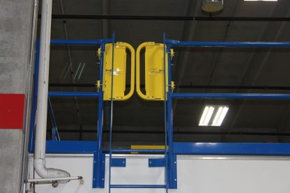 PSDOORS LSGDBL Paired Ladder Safety Gate, PCY 3