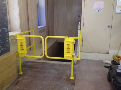 PSDOORS LSGDBL Paired Ladder Safety Gate, PCY 6