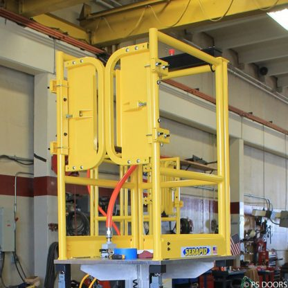 PSDOORS LSGDBL Paired Ladder Safety Gate, PCY 7