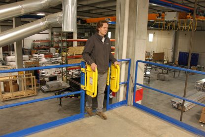 PSDOORS LSGDBL Paired Ladder Safety Gate, PCY 11