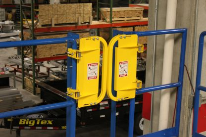 PSDOORS LSGDBL Paired Ladder Safety Gate, PCY 12