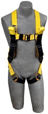 3M™ DBI-SALA® Delta™ Arc Flash Harness, Dorsal/Rescue Web Loops, 1110780 1110781 1110782 1110788, front
