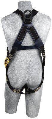 Delta™ Vest-Style Arc Flash Harness, PT/PT, 1110830 1110831, rear