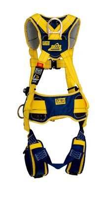 Delta™ Comfort Construction Style Positioning/Climbing Harness, QC/QC, 1100517 1100518 1100519 1100523, rear