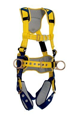Delta™ Comfort Construction Style Positioning/Climbing Harness, TB/PT, front, 1100632 1100633 1100634 1100635,