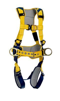 Delta™ Comfort Construction Style Positioning/Climbing Harness, QC/QC, 1100517 1100518 1100519 1100523, front