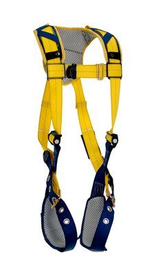 Delta™ Comfort Vest-Style Harness, TB/PT, 1100745 1100746 1100747 1100748, Back D-ring, tongue buckle leg straps, comfort padding, front