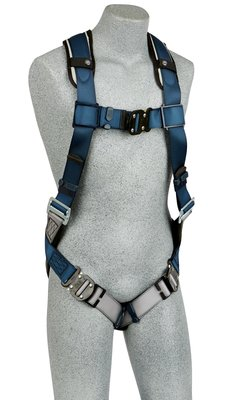ExoFit™ Vest-Style Harness, Back D-ring, loops for belt, quick-connect buckles, 1107975 1107976 1107977 1107981, front