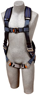 ExoFit™ XP Vest-Style Harness, QC/QC, Back D-ring, loops for belt, quick-connect buckles, 1110100 1110101 1110102 1110103, front