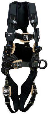 ExoFit NEX™ Arc Flash Construction Style Positioning Harness, QC/QC, 1113315 1113316 1113317 1113318, front