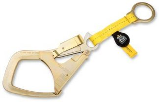 1231305 - 1.5 ft. (45cm) web anchor strap with Saflok Max™ hook at one end, D-ring at other end