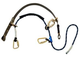 """1204057 1204058, 3M™ DBI-SALA® Cynch-Lok™ Pole Climbing Device, Rope, Fall restriction device with rope lanyard for distribution poles up to 18.5"""" diameter (47cm), 58"""" circumference"""