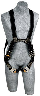 Delta™ Arc Flash Harness, Dorsal/Front Web Loops, QC/PT, Nomex® / Kevlar® fiber webbing, no metal above the waist, front & back web loop, quick connect buckle legs, leather insulators, 1110810 1110811 1110812 1110815, front