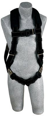 ExoFit™ XP Arc Flash Harness, PT/PT, PVC coated hardware, pass thru buckles, back & leg Nomex®/Kevlar® fiber pads, 1110890 1110891 1110892 1110893, front