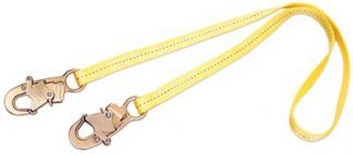 1231102 1231103 1231104 1231106, 2 ft. (0.6m) web single-leg with snap hooks at each end, 3M™ DBI-SALA® Web Positioning Lanyard