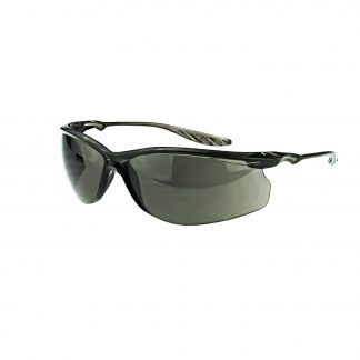 3741 Smoke lens, Crystal Black frame
