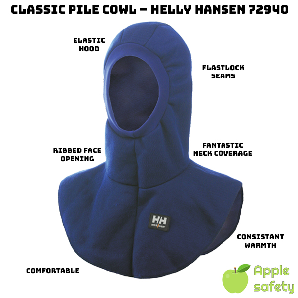 Elastic hood can easily expand over your face     Designed to fit over balaclavas     Fantastic neck coverage     Flatlock seams to maximize comfort     Allows for a consistent level of warmth