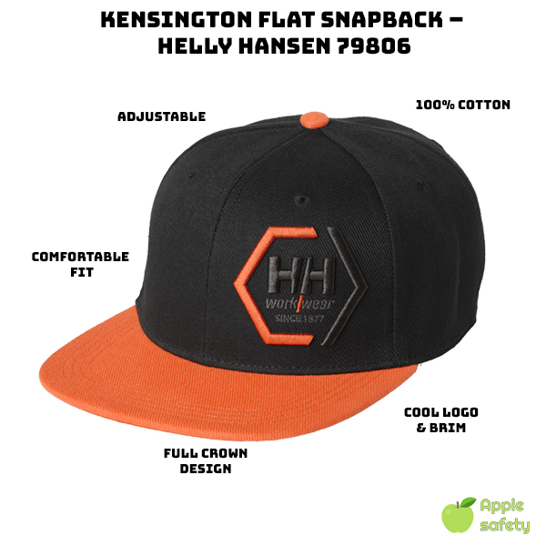 Adjustable Snapback Built for comfort Full crown construction 100% Cotton