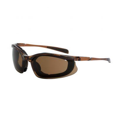 867 AF HD brown AF, black frame, foam lined