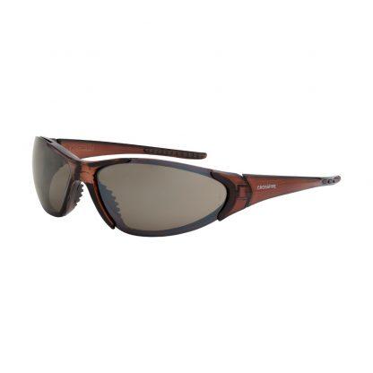 18117 HD brown flash mirror lens, crystal brown