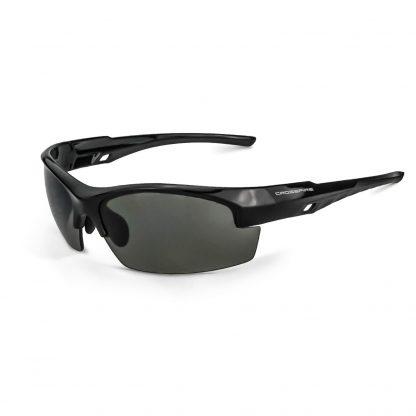 4061 Smoke Lens, Shiny Black Frame
