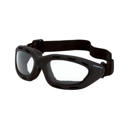 91351 AF Clear anti-fog lens, black frame