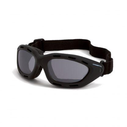 91352 AF Smoke anti-fog lens, black frame