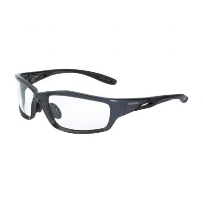 224 Clear lens, shiny pearl gray frame