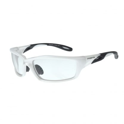2244 Clear lens, pearl white frame