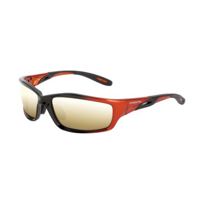 2812 Gold mirror lens, orange/black frame