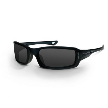 20291 Smoke lens, crystal black frame